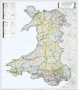 County Maps of Wales 2021