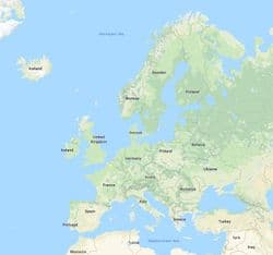 Europe, Continental