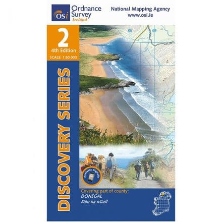 Ordnance Survey Ireland 1:50,000 - Map 02 - Donegal North Central