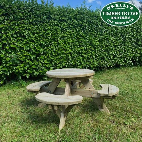 Children's Round Picnic Table