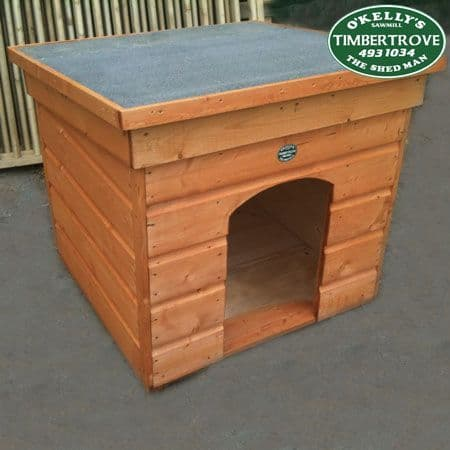 Flat Roof Dog Kennel