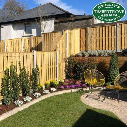 Holmwood Fencing Panel | Timbertrrove | High quality timber fence