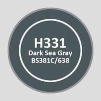 Mr Aqueous Hobby Color - Dark Sea Gray BS381C/638