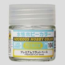 Mr Aqueous Hobby Color - Premium Flat Base