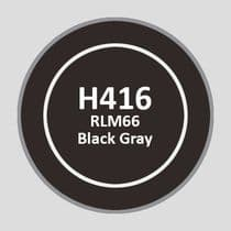 Mr Aqueous Hobby Color - RLM66 Black Gray