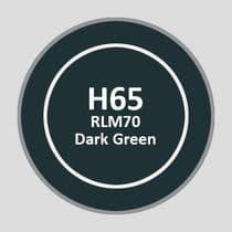 Mr Aqueous Hobby Color - RLM70 Dark Green