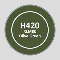 Mr Aqueous Hobby Color - RLM80 Olive Green