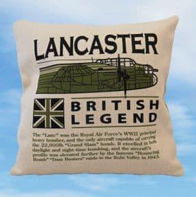 Avro Lancaster - British Legend Cushion