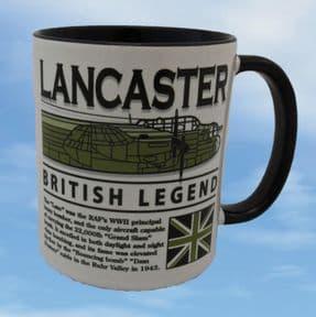 Avro Lancaster - British Legend - Mug
