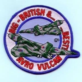 Avro Vulcan Big, British & Best Roundel