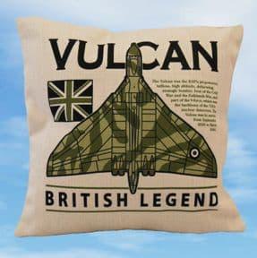 Avro Vulcan - British Legend Cushion