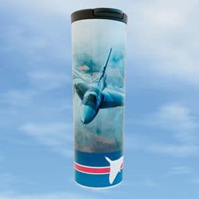 Barista Flask Vulcan XH558  - Air to Air 2014 Steve Comber