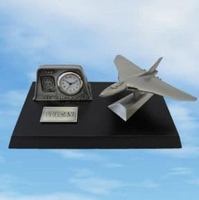 Fine English Pewter - Vulcan Desk Clock