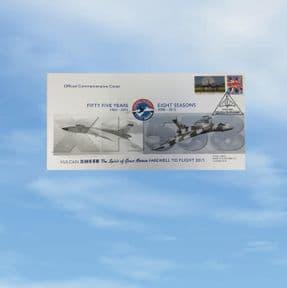 FLOWN - Final Flight Commemorative Cover