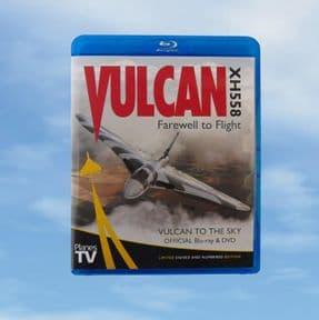 FLOWN - LIMITED EDITION DVD/Bluray VULCAN XH558 -