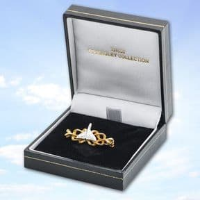Gold & Silver Brooch