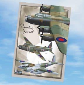 Greetings Cards - Chocks Away! Lancaster & Friends
