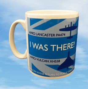 I Was There! Vulcan XH558 Return to Public Display mug
