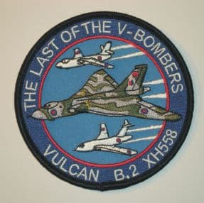 Last of V-Bombers Patch - Cruise 3