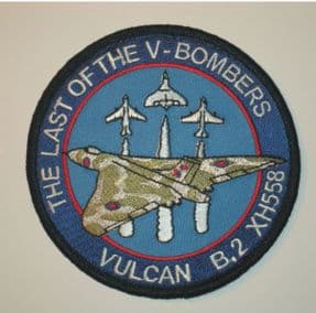 Last of V-Bombers Patch - Vertical 3
