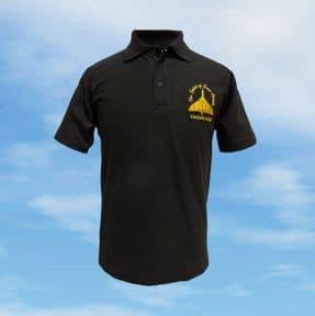 Polo Shirt - Black - Spirit of Great Britain