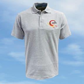 Polo Shirt - Heather Grey - WK163 Scorpion