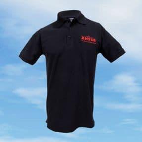 Polo Shirt - Navy - XH558 with Union Flag