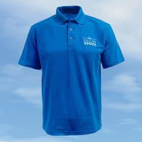 Polo Shirt - Royal Blue - Vulcan XH558