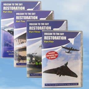 Restoration Parts 1-4 - DVD COLLECTION