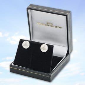 Solid Silver Vulcan Earrings