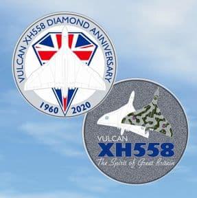 Special Edition - Vulcan XH558 Diamond Anniversary Coin