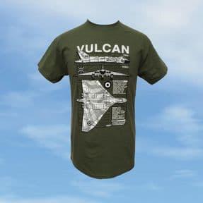 T Shirt - Green - Vulcan Blueprint