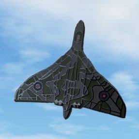 Vulcan Camo Pin Badge