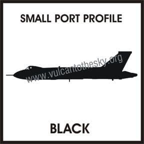 Vulcan Profile Sticker - Port Side