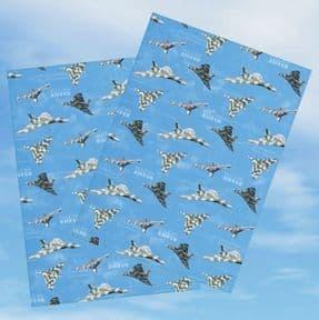 Vulcan XH558 Gift Wrap Sheets