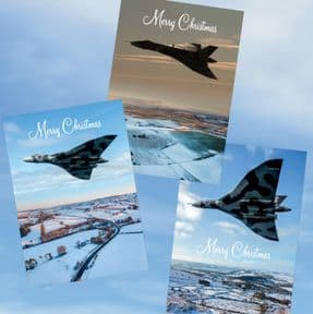 XH558 Pack of 6 Christmas Cards (2 each of 3 designs) - 2019